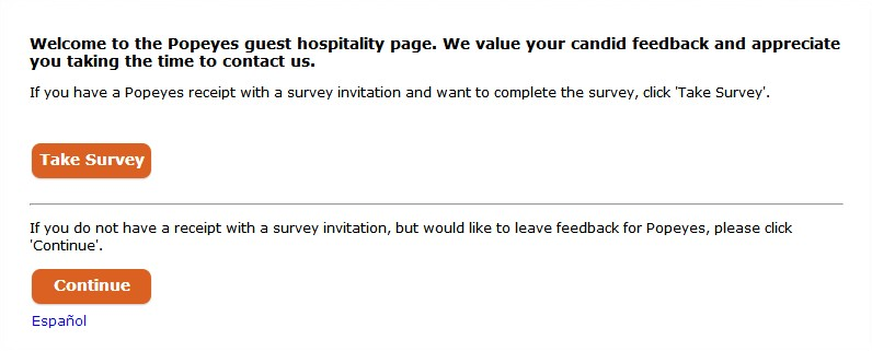 Rewards for Answering the Survey Questions