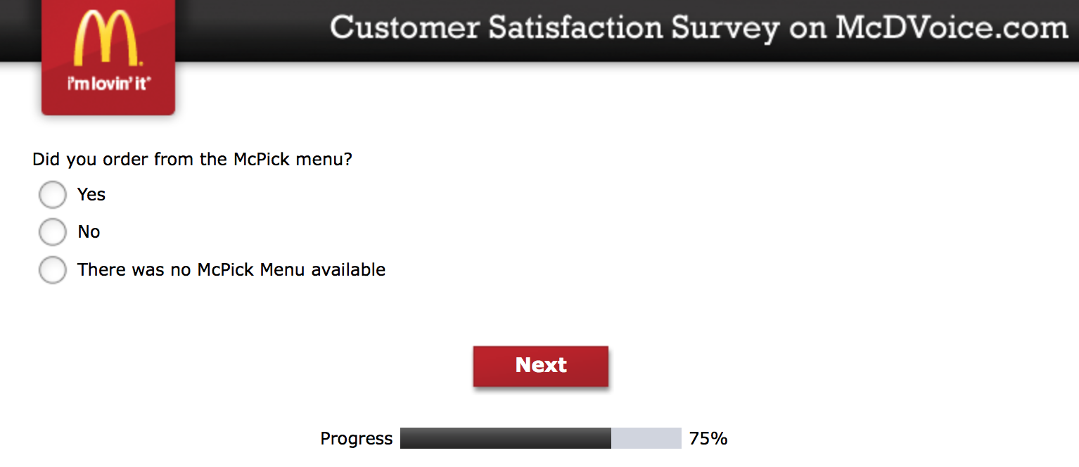 Mcdvoice.com Customer Survey 17
