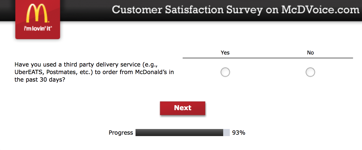 Mcdvoice.com Customer Survey 24