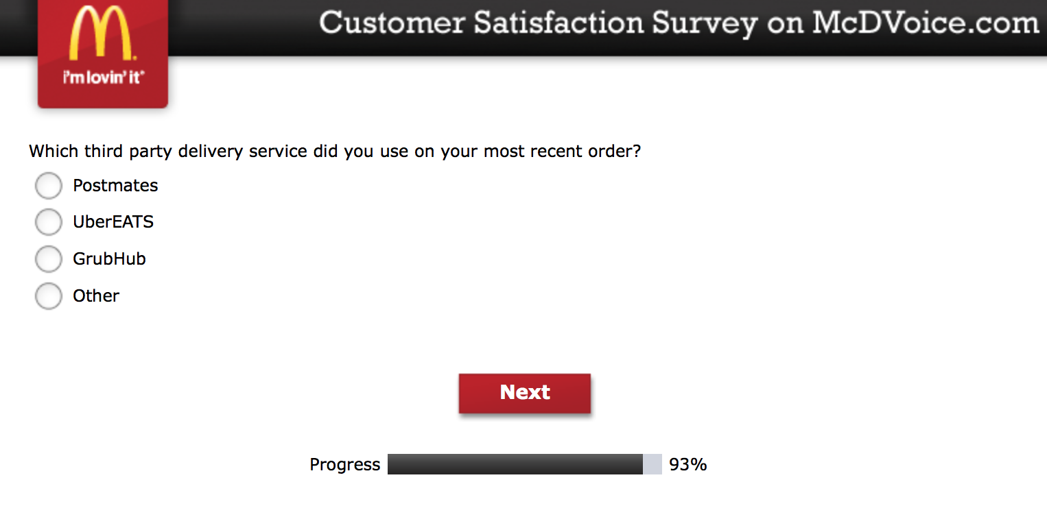 Mcdvoice.com Customer Survey 25