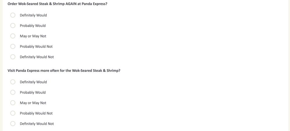 PandaExpress.com:feedback Survey 26