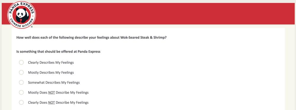 PandaExpress.com:feedback Survey 27