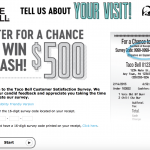 Taco Bell Customer Survey