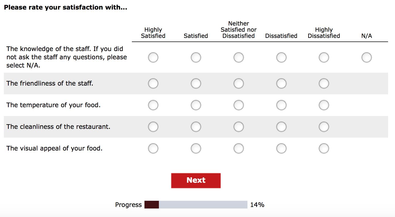 TalktoWendys Survey 3