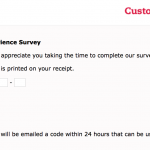 Mycfavisit Customer Survey