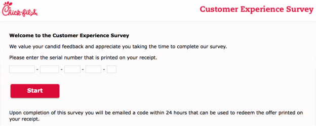 Mycfavisit Customer Survey