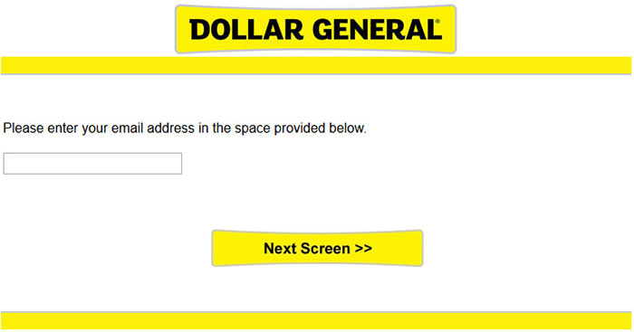 Dollar General Survey Guide