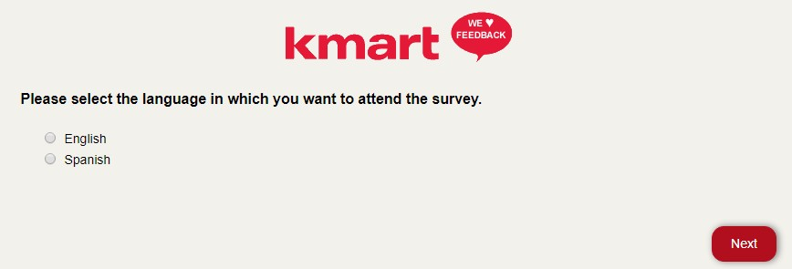 Kmart Customer Satisfaction Survey