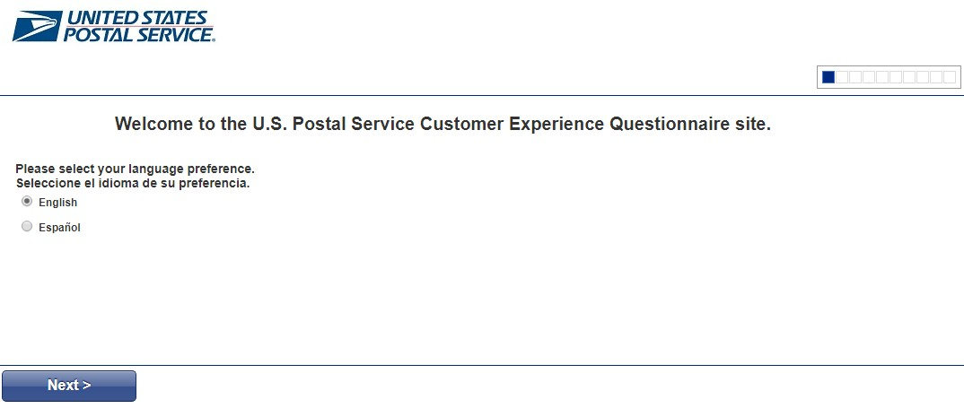 Postal Service Customer Experience Survey