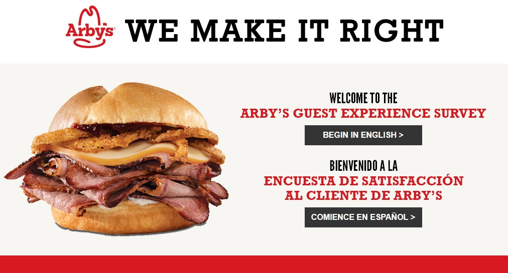 Arby's Survey Guide