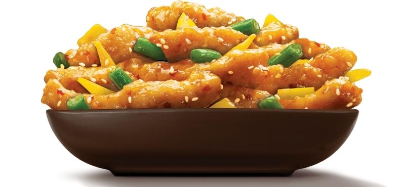 Panda Express Honey Sesame Chicken