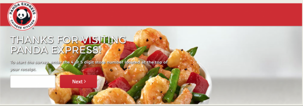Panda-Express-Survey-Website
