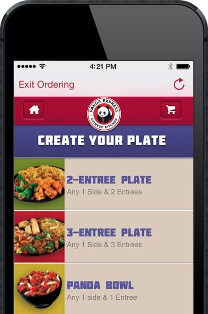 panda express food app