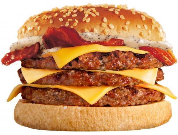 Burger king in Britain