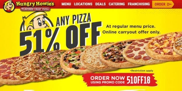 Hungry Howies Coupons