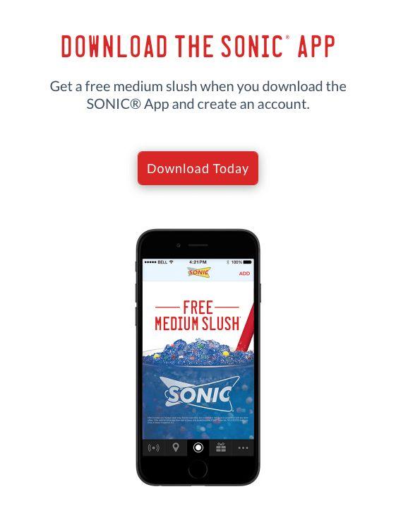 Sonic Drive in App