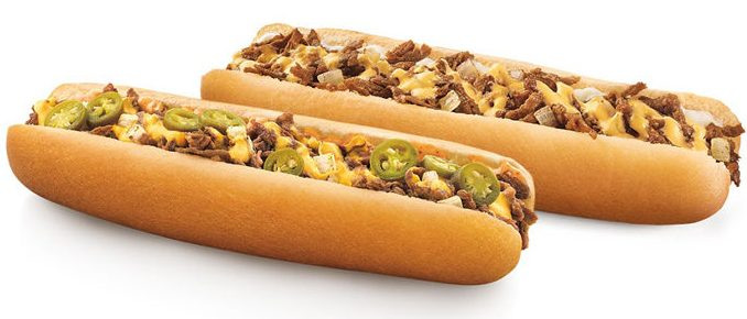 Sonic Drive-in Footlong Quarter Pound Coney