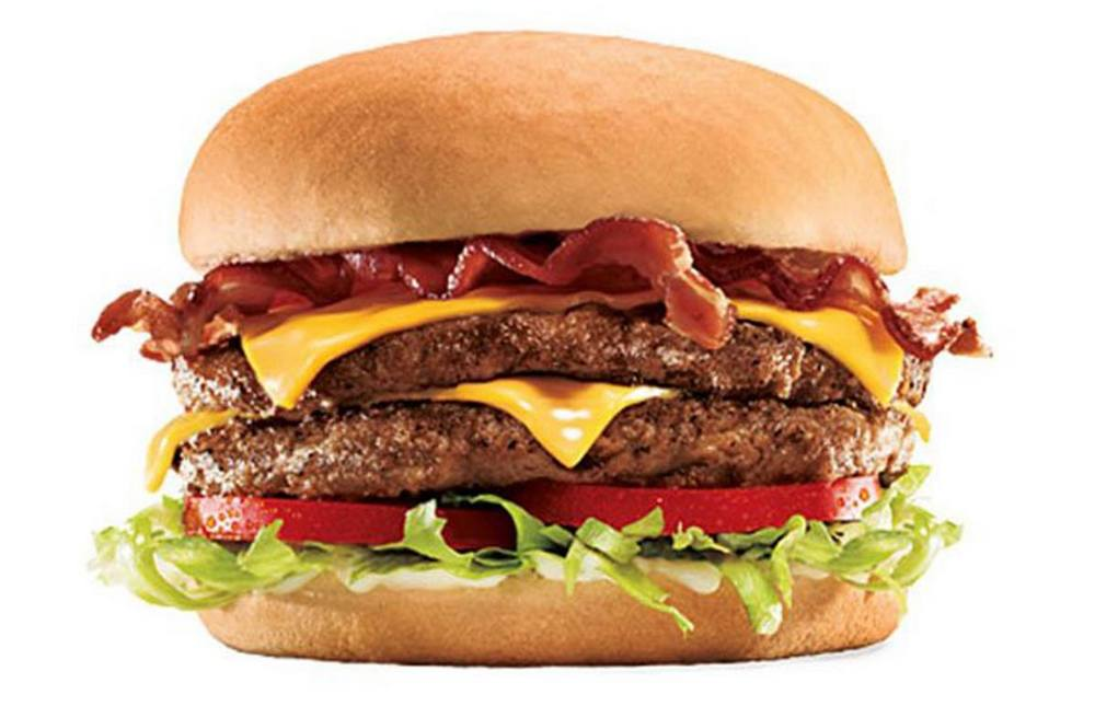 Sonic Drive-in Supersonic Bacon Double Cheeseburger